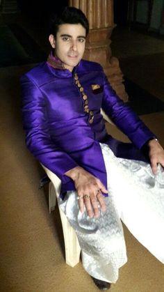 #GautamRode in purple