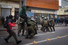 lucha estudiantil en chile