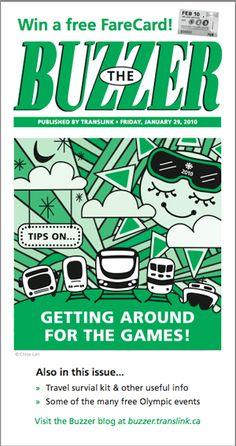 January/February 2010 Buzzer cover Buzzer, February, Cover, Blog, Blogging, Blankets