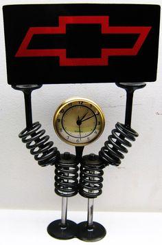Valve and Valve Spring Clock