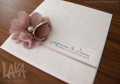 Infinity wedding invitation by www.lavastationery.com.au