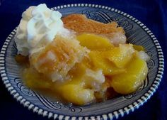 My grandmother used this recipe every summer when the peaches were ripe. She got the recipe from her church cookbook. You can use any almost any kind of fruit in the cobbler, it will still be good.