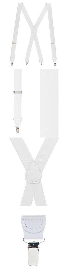 Suspenders Braces 105387: Bangkok Silk Suspenders - Clip (8 Colors) -> BUY IT NOW ONLY: $59.95 on eBay!