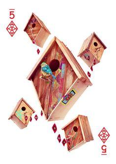 Five of Diamonds by Maciej Haraf