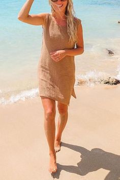 Details: Material:Polyester SIZE(IN) Bust Length One Size 33.5 33.9 Summer Cardigan, Ripped Shorts, Cute Bathing Suits, Floor Length Dresses, Slit Dress, Color Khaki, Denim Fashion, Half Sleeves, Plus Size Fashion