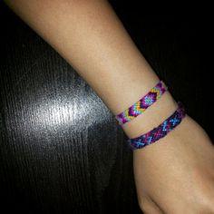 Normal friendship bracelet pattern variation added by Heymani. Friendship Bracelet Patterns, Friendship Bracelets, Diamond Cross, Chevron, Beautiful, Jewelry, Jewlery, Jewerly, Schmuck