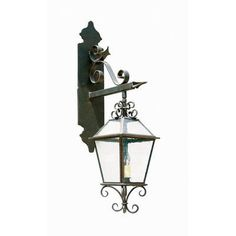 2nd Ave Design Palermo 2 Light Outdoor Wall Lantern Finish: Antique Rust, Shade Type: Clear Acrylic