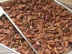 How to properly soak and roast your nuts (reason to soak nuts: Nuts contain phytic acid, which binds with minerals (calcium, magnesium, iron, etc.) and prevents them from being absorbed by our bodies) when soaking them it releases the phytic acid