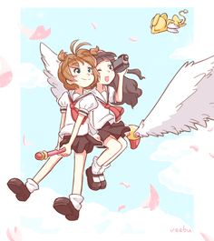 CCS - Sakura, Tomoyo and Kero