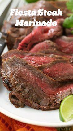 Mexican Steak Marinade, Steak Marinade Recipes, Flank Steak Recipes, Grilled Steak Recipes, Pork Recipes, Mexican Food Recipes, Cooking Recipes, Healthy Recipes, Recipes