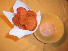 Crispy Baked Sweet Potato Chips with Sriracha Dipping Sauce