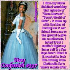 Make your sissy confessions! Girly Captions, Forced Tg Captions, Halloween Captions, Halloween Costumes For Girls, Prissy Sissy, Sissy Boy, Humiliation Captions, Male To Female Transgender, Petticoated Boys