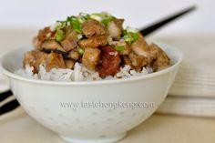 Taro or Yam Rice with Chinese Sausage Recipe on Yummly Taro Recipes, Radish Recipes, Rice Recipes, Asian Recipes, Ethnic Recipes, Asian Foods, Chinese Recipes, Chinese Taro Cake Recipe, Chinese Sausage