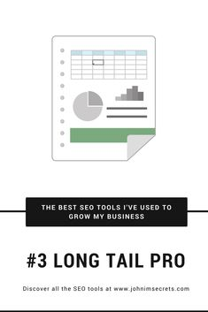 On this page I share the best tools I've used to grow my business. Among them you can find: SEO Tools, Social Media Tools, Books, e-Courses, and Resources.