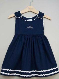 Top Newest Kids Summer Casual dresses Designs Baby Girl Frocks, Frocks For Girls, Little Girl Outfits, Toddler Girl Dresses, Kids Outfits, Girls Frock Design, Kids Frocks Design, Baby Frocks Designs, Baby Dress Design