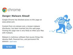Google Issues Malware Warnings For Multiple High-Profile Sites - Google\'s Chrome browser routinely stops a user from accessing a given website if the website is a security risk. It so happens that today, Google served malware warnings to many users who tried to access a number of high-profile websites. The security alarm was triggered because a rather popular ad network, NetSeer, had come under a malware attack. [Click on Image Or Source on Top to See Full News]