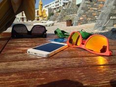 Oakley Frogskins & iPhone 5.