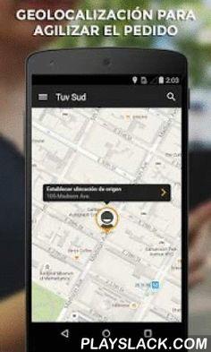Tuv Sud  Android App - playslack.com ,  ¡Con Tuv Sud puedes pedir un taxi sencillamente desde tu Android!Pida el taxi más cerca de usted con solo 2 clicks.¿Cómo funciona Tuv Sud? 1. Tuv Sud localiza tu posición actual automáticamente. 2. Con sólo pulsar un botón, puedes pedir el taxi libre más cercano  3. Al final del viaje podrás evaluar al conductor y su servicio mediante estrellas.¿Por qué Tuv Sud?- GRATIS: la descarga de la aplicación es gratuita- TRANSPARENTE: facilitamos siempre un…