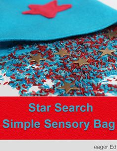 S is for Star Search   Simple Montessori Inspired Sensory Bag   eager Ed