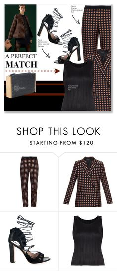 """""""AW15: How To Wear Coordinating Pieces"""" by tracey-mason ❤ liked on Polyvore featuring Cédric Charlier, Paula Cademartori, Pleats Please by Issey Miyake and Lanvin"""