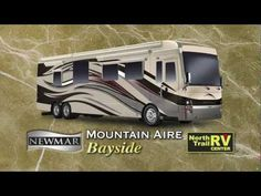 Luxury motor home - 2012 Newmar Mountain Aire diesel pusher motor home video