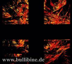 Kreuz in Flammen, brennendes Kreuz