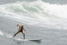 Surf's up for Lady Gaga in Punta Mita!