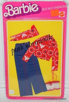 Barbie Best Buy Fashions 1975 Collectible/Fun Favorites Vintage #9161..MIP