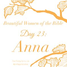 https://www.facebook.com/Jesus-Christ-Our-King-Saviour-Jesus-ChBeautiful Women of the Bible: Day 23 - Anna Even though Anna was aged in years, she understood correctly that God still had work for her to do. Because she spent time in prayer and fasting, she was ready, spiritually, to do the work that God had given her when the time arrived. In reality we are never too old, never too disabled, never too poor or too lowly to work for the Lord. Read her story here…