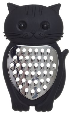 CAT CHEESE GRATER - A cat that can really shred! This cheese grater is not only cute but will shred the hell out of a brick of cheese without harming your couch in any way!