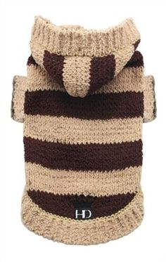 Super Soft Stripe Dog Sweater