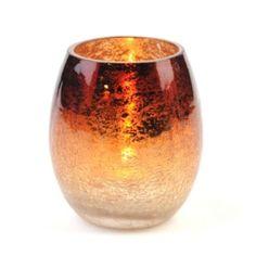 Mercury Glass Votive Holder