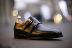John Lobb 'Chapel' Double Buckle Monk. 1,685 USD. Can be purchased in the US here: http://us.estore.johnlobb.com/monk-shoes/chapel.html