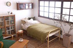 アンティーク ペイント家具 ベッド
