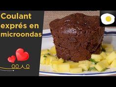 Coulant exprés en microondas (Receta San Valentín))   Postres caseros - YouTube