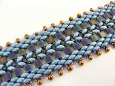 Sweet Freedom Designs - made from design on pg. 80 of the October 2013 Issue of Bead & Button  ~ Seed Bead Tutorials