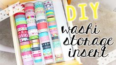 Ha-ro! This video is showing you guys an affordable and easy way to store all of your washi tapes for those hoarders like me :) Also make sure to check out m...