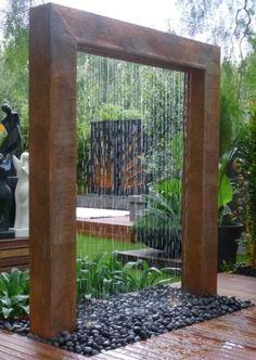 Wasserfall oder Gartendusche..