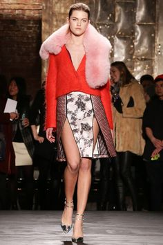 Kaelen Fall 2014 Ready-to-Wear Collection Slideshow on Style.com.     ~   WITHOUT THE PINK FUR (or whatever that is...)!