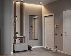 home decor ideas hallway Hall Interior Design, Contemporary Interior Design, Interior Design Living Room, Interior Architecture, Room Partition Designs, Hallway Designs, Home Entrance Decor, Entryway Decor, Home Decor