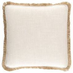 Surya Ellery Beige Decorative Pillow