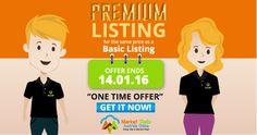 Get a Premium Listing for same price as Basic Listing. Buy a listing before offer ends 14.01.16 https://marketstallsaustralia.com.au/register-your-listing/