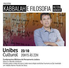 """Palestra """"Kaballah e Filosofia - por Leando Konder"""" - UNIBES - SP - 23.10.2017"""