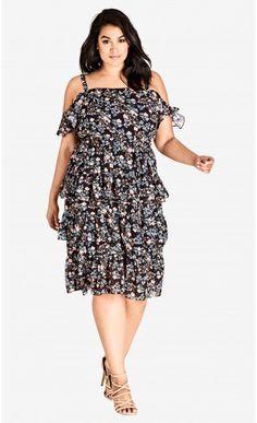 858fda2a597fa Baby Floral Dress Curvy Fashion