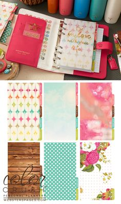 Personal Planner Kit : Dark Pink - Personal Planners & Folios - What's New! (Wholesale)