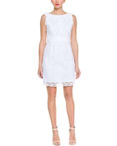 Shoshanna White Floral Lace Dress