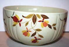 1950s Hall China AUTUMN LEAF Jewel Tea 750 by Ablast2thepast, $24.00