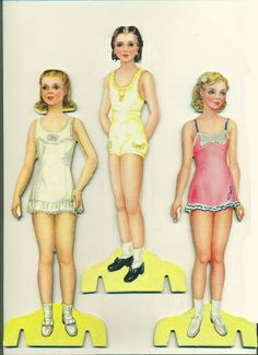 Paper Doll Party 1944