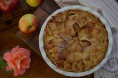 Pastel de manzana. American apple Pie. Receta: http://www.recetasdemama.es/2015/11/pastel-de-manzana-american-apple-pie/