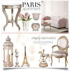 Decodent Parisian by katrinaalice on Polyvore featuring polyvore, interior, interiors, interior design, home, home decor, interior decorating, Haute House, Universal Lighting and Decor, Cultural Intrigue, Sass & Belle, Merci Gustave!, Global Views, vintage and parisapartment